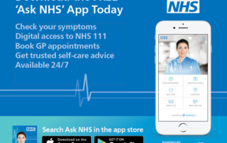 Ask NHS - Web Banner