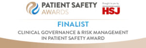 Clinical Governance & Risk Management in Patient Safety Award - Finalist Logo (1)