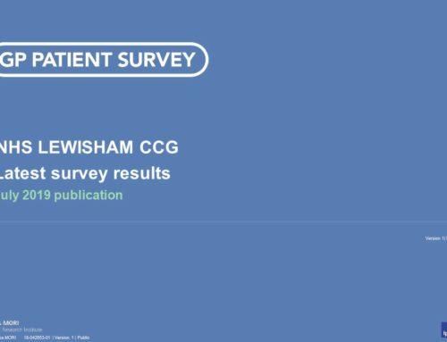 GP Patient Survey Results for July Now Available