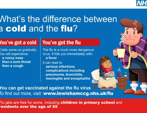 Lewisham CCG create one-stop-shop page on Flu virus & Vaccine information