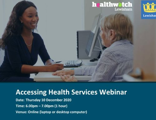 Accessing Health Services Webinar – 10 December