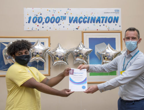 Lewisham and Greenwich NHS Trust delivers 100,000 Covid vaccinations: Friday 30 July